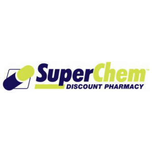 Super Chem Discount Pharmacy Logo