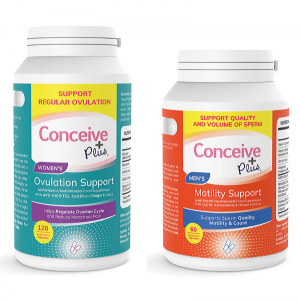 ovulation and sperm motility support vitamin Conceive Plus